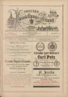 Posener Ausstellungs-Zeitung: Offizielles Organ der Provinzial-Gewerbe-Ausstellung 1895.06.17 Nr23