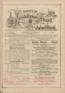 Posener Ausstellungs-Zeitung: Offizielles Organ der Provinzial-Gewerbe-Ausstellung 1895.06.22 Nr28