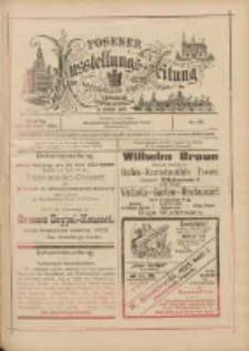 Posener Ausstellungs-Zeitung: Offizielles Organ der Provinzial-Gewerbe-Ausstellung 1895.06.23 Nr29