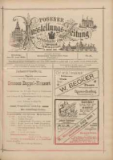 Posener Ausstellungs-Zeitung: Offizielles Organ der Provinzial-Gewerbe-Ausstellung 1895.06.25 Nr31