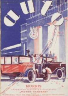 Auto: ilustrowane czasopismo sportowo-techniczne: organ Automobilklubu Polski oraz Klubów Afiliowanch: revue sportive et technique de l' automobile: organe officiel de l'Automobile-Club de Pologne et des clubs afiliés 1928 marzec R.7 Nr3