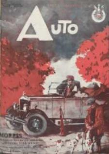 Auto: ilustrowane czasopismo sportowo-techniczne: organ Automobilklubu Polski oraz Klubów Afiliowanch: revue sportive et technique de l' automobile: organe officiel de l'Automobile-Club de Pologne et des clubs afiliés 1928 wrzesień R.7 Nr9