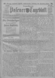 Posener Tageblatt 1911.12.15 Jg.50 Nr587
