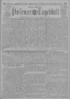 Posener Tageblatt 1911.12.22 Jg.50 Nr599