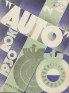 Auto: miesięcznik: organ Automobilklubu Polski oraz Klubów Afiliowanych 1930 luty R.9 Nr2