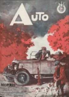 Auto: ilustrowane czasopismo sportowo-techniczne: organ Automobilklubu Polski oraz Klubów Afiliowanch: revue sportive et technique de l' automobile: organe officiel de l'Automobile-Club de Pologne et des clubs afiliés 1928 listopad R.7 Nr11