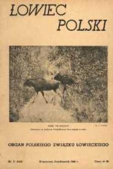 Łowiec Polski 1946 Nr5