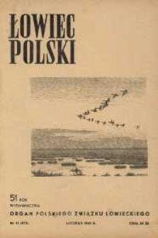 Łowiec Polski 1949 Nr11