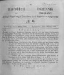 Amtsblatt der Königlichen Preussischen Regierung zu Bromberg. 1857.02.06 No.6