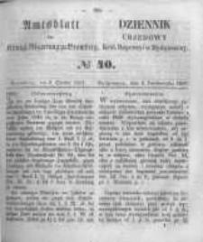 Amtsblatt der Königlichen Preussischen Regierung zu Bromberg. 1857.10.02 No.40