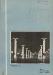 ATS Auto i Technika Samochodowa: organ Automobilklubu Polski oraz Klubów Afiliowanych: organe officiel de l'AutomobilKlub Polski et des clubs affiliés 1938 marzec R.17 Nr3