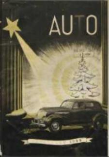 Auto: organ Automobilklubu Polski oraz Klubów Afiliowanych: organe officiel de l'AutomobilKlub Polski et des clubs affiliés 1938 grudzień R.17 Nr12
