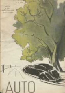 Auto: organ Automobilklubu Polski oraz Klubów Afiliowanych: organe officiel de l'AutomobilKlub Polski et des clubs affiliés 1938 październik R.17 Nr10