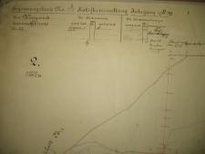 Placówka wychowawcza w Antoniewie. Mapa majątku Glinno z 1911 roku oznaczona liczbą 2
