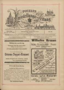 Posener Ausstellungs-Zeitung: Offizielles Organ der Provinzial-Gewerbe-Ausstellung 1895.06.30 Nr36
