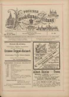Posener Ausstellungs-Zeitung: Offizielles Organ der Provinzial-Gewerbe-Ausstellung 1895.07.02 Nr38