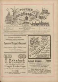Posener Ausstellungs-Zeitung: Offizielles Organ der Provinzial-Gewerbe-Ausstellung 1895.07.05 Nr41