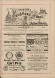 Posener Ausstellungs-Zeitung: Offizielles Organ der Provinzial-Gewerbe-Ausstellung 1895.07.06 Nr42