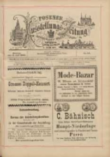 Posener Ausstellungs-Zeitung: Offizielles Organ der Provinzial-Gewerbe-Ausstellung 1895.07.08 Nr44