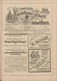 Posener Ausstellungs-Zeitung: Offizielles Organ der Provinzial-Gewerbe-Ausstellung 1895.07.09 Nr45