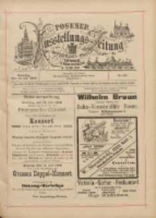 Posener Ausstellungs-Zeitung: Offizielles Organ der Provinzial-Gewerbe-Ausstellung 1895.07.14 Nr50