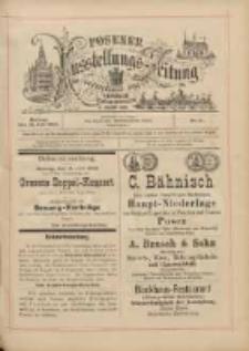 Posener Ausstellungs-Zeitung: Offizielles Organ der Provinzial-Gewerbe-Ausstellung 1895.07.15 Nr51