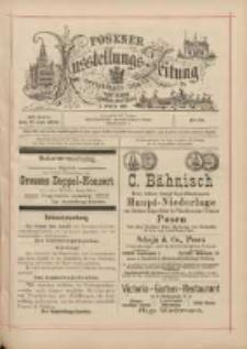 Posener Ausstellungs-Zeitung: Offizielles Organ der Provinzial-Gewerbe-Ausstellung 1895.07.17 Nr53