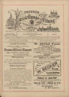 Posener Ausstellungs-Zeitung: Offizielles Organ der Provinzial-Gewerbe-Ausstellung 1895.07.25 Nr61