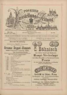 Posener Ausstellungs-Zeitung: Offizielles Organ der Provinzial-Gewerbe-Ausstellung 1895.07.29 Nr65