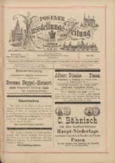Posener Ausstellungs-Zeitung: Offizielles Organ der Provinzial-Gewerbe-Ausstellung 1895.07.31 Nr67