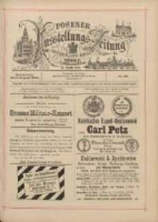 Posener Ausstellungs-Zeitung: Offizielles Organ der Provinzial-Gewerbe-Ausstellung 1895.08.01 Nr68