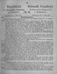 Amtsblatt der Königlichen Preussischen Regierung zu Bromberg. 1865.03.03 No.9