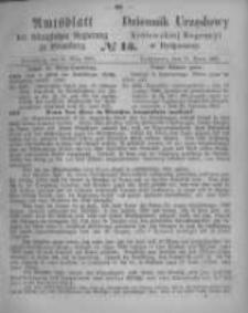 Amtsblatt der Königlichen Preussischen Regierung zu Bromberg. 1865.03.31 No.13