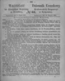 Amtsblatt der Königlichen Preussischen Regierung zu Bromberg. 1865.08.18 No.33