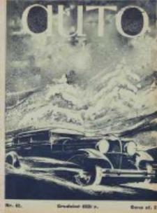 Auto: miesięcznik: organ Automobilklubu Polski oraz Klubów Afiljowanych: organe officiel de l'AutomobilKlub Polska et des clubs affiliés 1931 grudzień Nr12