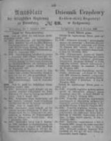 Amtsblatt der Königlichen Preussischen Regierung zu Bromberg. 1865.12.08 No.49