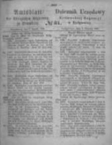 Amtsblatt der Königlichen Preussischen Regierung zu Bromberg. 1866.08.03 No.31