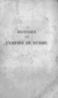 Histoire de l'empire de Russie. T.8