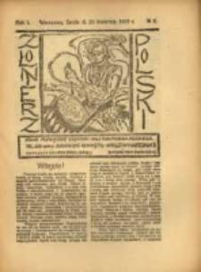 Żołnierz Polski : pismo poświęcone czynowi i doli żołnierza polskiego. R.1 1919 nr8