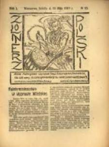 Żołnierz Polski : pismo poświęcone czynowi i doli żołnierza polskiego. R.1 1919 nr13