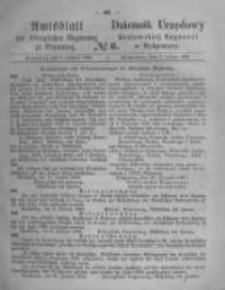 Amtsblatt der Königlichen Preussischen Regierung zu Bromberg. 1868.02.07 No.6