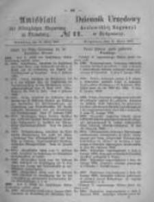 Amtsblatt der Königlichen Preussischen Regierung zu Bromberg. 1868.03.13 No.11