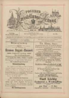 Posener Ausstellungs-Zeitung: Offizielles Organ der Provinzial-Gewerbe-Ausstellung 1895.08.02 Nr69