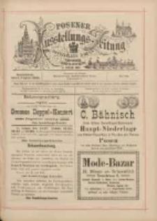 Posener Ausstellungs-Zeitung: Offizielles Organ der Provinzial-Gewerbe-Ausstellung 1895.08.03 Nr70