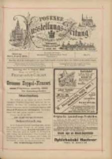 Posener Ausstellungs-Zeitung: Offizielles Organ der Provinzial-Gewerbe-Ausstellung 1895.08.04 Nr71