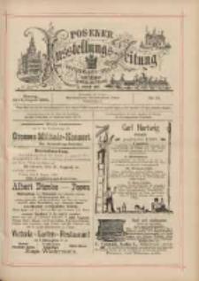 Posener Ausstellungs-Zeitung: Offizielles Organ der Provinzial-Gewerbe-Ausstellung 1895.08.05 Nr72
