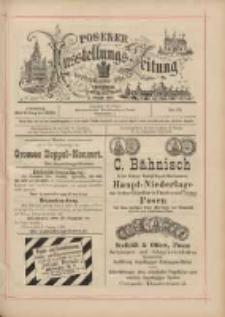 Posener Ausstellungs-Zeitung: Offizielles Organ der Provinzial-Gewerbe-Ausstellung 1895.08.06 Nr73