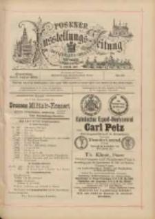 Posener Ausstellungs-Zeitung: Offizielles Organ der Provinzial-Gewerbe-Ausstellung 1895.08.08 Nr75