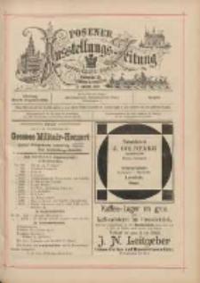 Posener Ausstellungs-Zeitung: Offizielles Organ der Provinzial-Gewerbe-Ausstellung 1895.08.09 Nr76