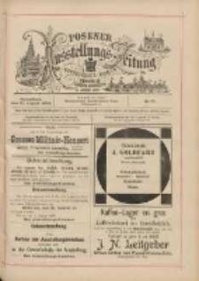 Posener Ausstellungs-Zeitung: Offizielles Organ der Provinzial-Gewerbe-Ausstellung 1895.08.10 Nr77